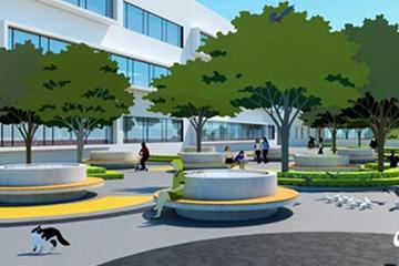 西海岸兩所新建中學主體封頂 規劃66個教學班!