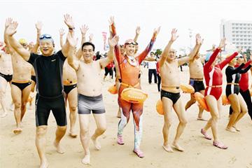 第二十八屆青島國際沙灘節開幕