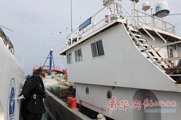 最高處罰10萬元!四艘違規跨區作業漁船在青島被扣押