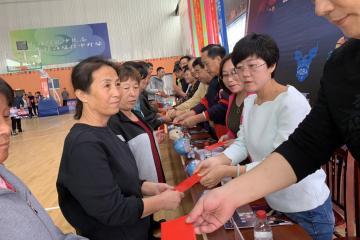 涌泉灣愛心籃球賽助力新區困難家庭