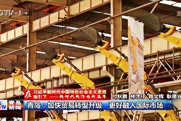 《在习近平新时代中国特色社会主义思想指引下 —新时代新作为新篇章》青岛:加快贸易转型升级 更好融入国际市场
