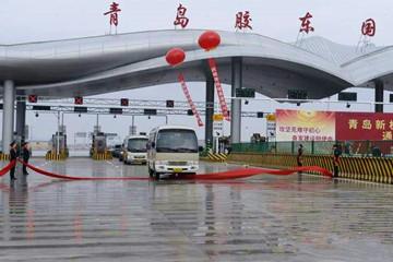 青島新機場高速公路建成通車試運營