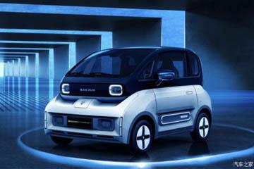 新宝骏首款新能源汽车官图发布