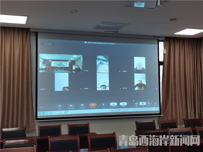 各管区主任通过学习强国视频系统汇报防控工作开展情况.jpg