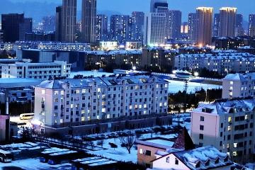 大雪傾城 雪夜靜美