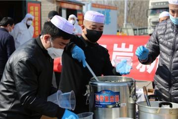 辛安街道:14家拉面馆集体慰问疫情防控一线人员