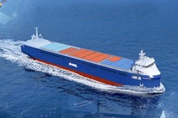 """""""无人驾驶""""货船,""""青岛标准""""把舵"""