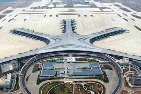 青岛胶东国际机场项目全面复工