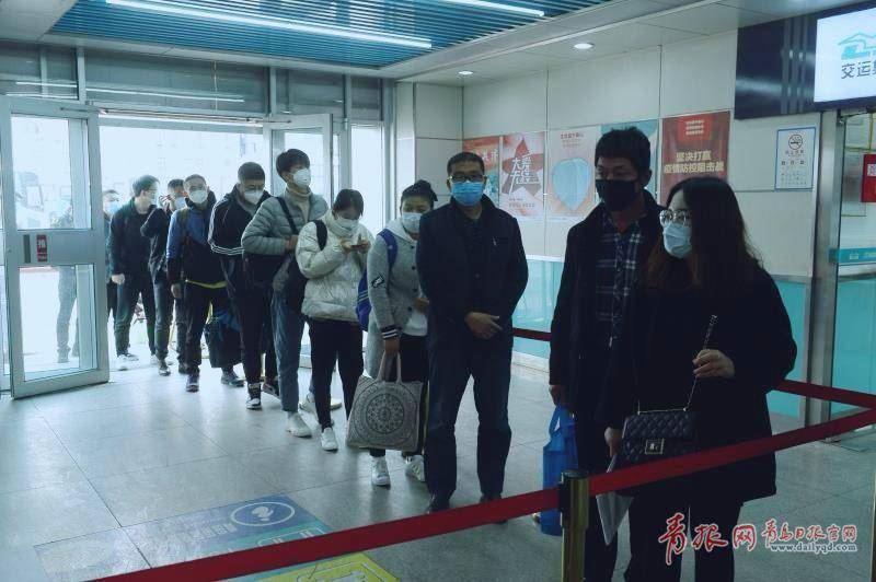 人来人往 青岛公路客流开始上升