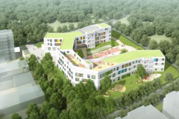 北港路幼儿园项目基础完工  计划今年第四季度投入使用