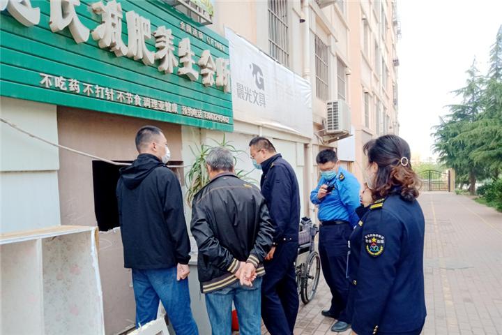黄岛街道:网格员巡查揪违建,联动组团消除安全隐患