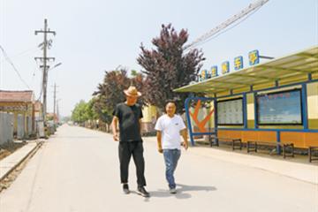 企业助力泊里镇马家庄村美丽乡村建设,人居环境显著改善