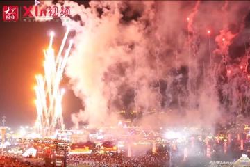 Xin视频|金沙滩啤酒城的夜美翻了
