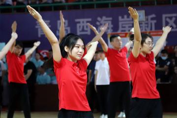 组图|新区机关第七届广播体操比赛掠影