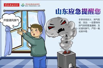 公益广告|冬季严防一氧化碳中毒