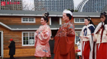 Xin视频|汉服出行日,弘扬传统文化