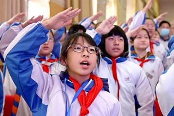 Xin视频|开学第一课,弘扬爱党爱国志