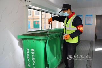 """珠海街道:小区垃圾桶""""住进""""收集房"""