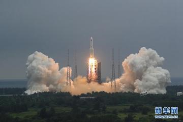 中國空間站天和核心艙發射任務成功