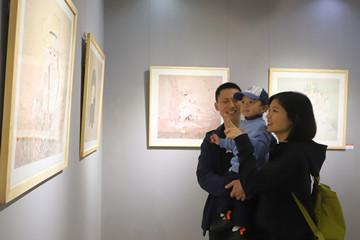 Xin視頻|正本清源!山東省工筆畫學會五人展開幕