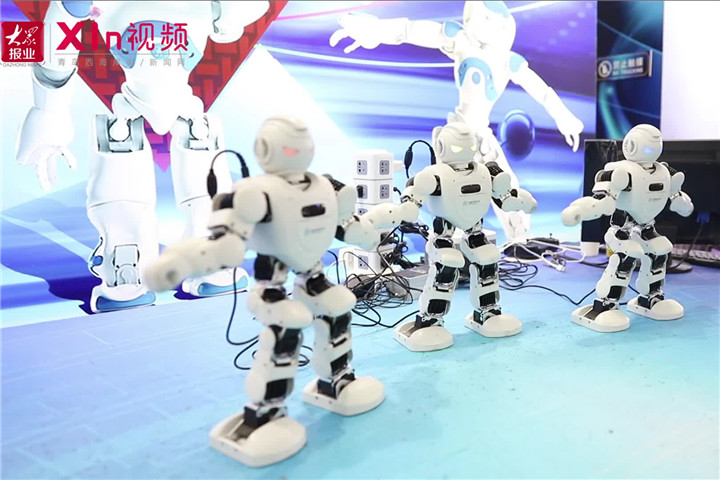 Xin视频 来青岛机器人城市公园,感受人工智能独特魅力