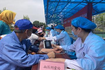 灵珠山街道:志愿服务浇开和美幸福之花