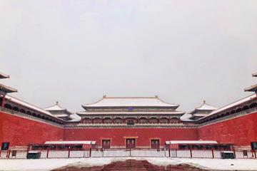 组图 | 雪后故宫